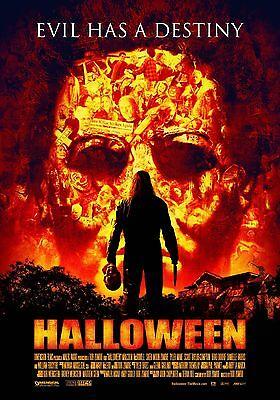 HALLOWEEN Movie Silk Fabric Poster Horror Remake Rob Zombie - Rob Zombie Halloween Remake