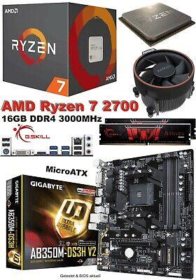 Bundle AMD Ryzen 7 1800X 8x4 00GHz 16GB DDR4 PC2400 ASRock AB350