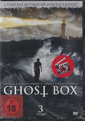Geister In Filmen (Ghost Box - 3 Filme Box - DVD - Neu und originalverpackt in Folie)