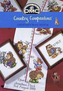 Country Companions Cross Stitch Chart - DMC