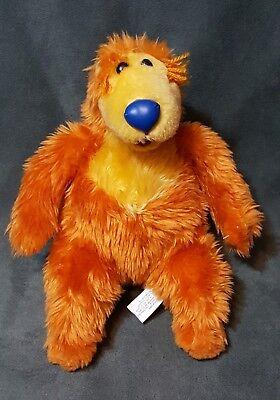 "Bear in the Big Blue House Disney 11"" Plush Nanco Jim Henson Plush Stuffed"