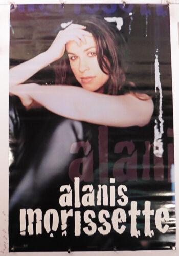 "Alanis Morissette vintage rare poster from 1995 23.25"" X 35.50"" NOS (b351)"