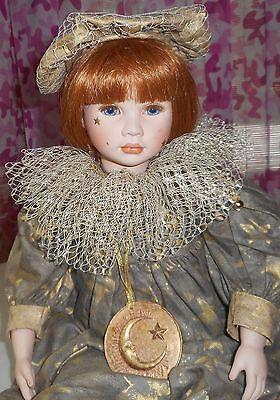 "Pauline Bjonness Jacobsen Doll - STELLA - 21"" - Porcelain Doll - LE - 222/950"