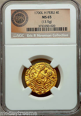 Click now to see the BUY IT NOW Price! PERU 4 ESCUDOS 1700