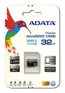 ADATA Mobile Ultra Class10 32GB microSD micro SDHC SD UHS-I U1 Flash Memory Card