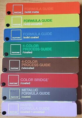 Pantone Color Guide Set Of 8 In Carrying Case - Proceeds Help Homeless Veterans