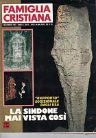 1981 11 08 - Famiglia Cristiana - Anno Li - N.44 - 08 11 1981 - La Sindone Mai C -  - ebay.it
