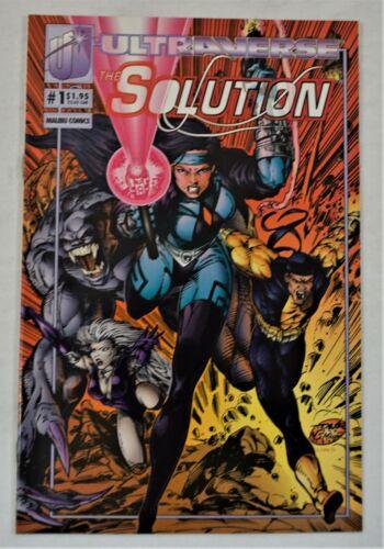 THE SOLUTION #1 SEPT 1993 The Hunted Ultraverse Malibu Comics NM
