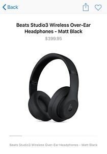 Beats Studio 3 Wireless (brand new factory sealed)