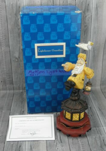 🔥David Frykman 1999 The Lighthouse Guardian DF3409 Figurine SEE NOTES🔥