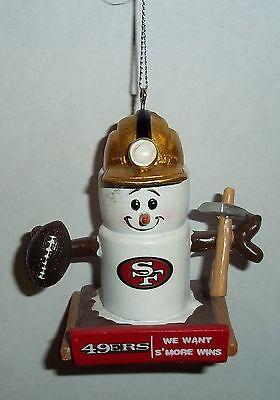 San Francisco 49ers Theme Smore Christmas Tree Ornament](49ers Theme)