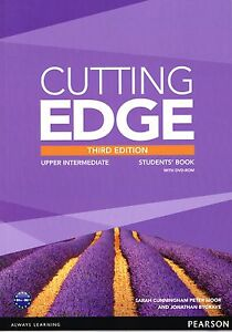 CUTTING EDGE Upper Intermediate THIRD EDITION 2013 Student's Book with DVD @NEW@
