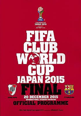 FIFA CLUB WORLD CUP FINAL 2015 Barcelona v River Plate