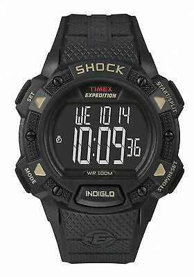 Timex T49896, Men's Expedition Chronograph Shock Watch, Indiglo, Alarm