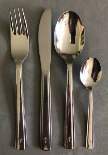 Singapore Airlines Stainless Cutlery, 4-Piece Silverware