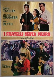 Soggettone I FRATELLI SENZA PAURA 1964 ROBERT TAYLOR, STEWART GRANGER, ANN BLYTH - Italia - L'oggetto può essere restituito - Italia