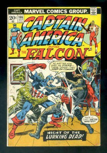 CAPTAIN AMERICA #166 Marvel 1973 FN