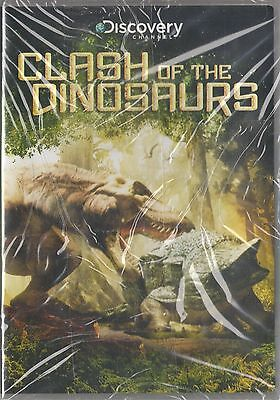 Clash Of The Dinosaurs  Dvd  2010  Discovery Channel