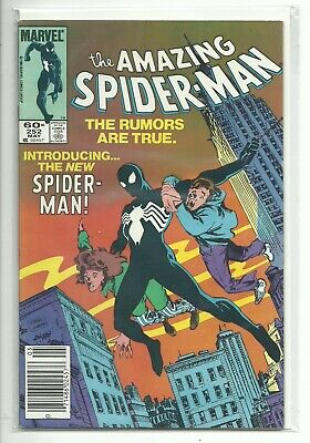 (1963 SERIES) MARVEL AMAZING SPIDER-MAN #252 1ST APPEARANCE BLACK COSTUME - - Amazing Spider Man Costumes