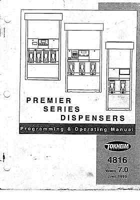 Tokheim Premiere Tecnical Documents Programming Operating Manual