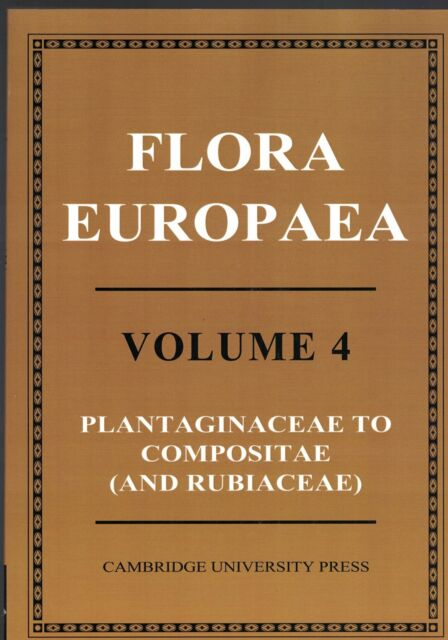 Flora Europaea: Volume 4 by Cambridge University Press (Paperback, 2010)