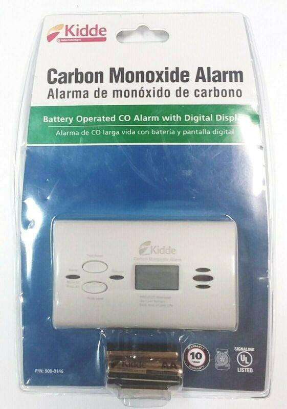 New Digital  Kidde P/N 900-0146 Plug-In Carbon Monoxide Alarm Battery