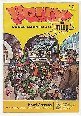 Perry unser Mann im All Nr.19 Original 1969 Moewig Verlag im Zustand 1-2 !!!
