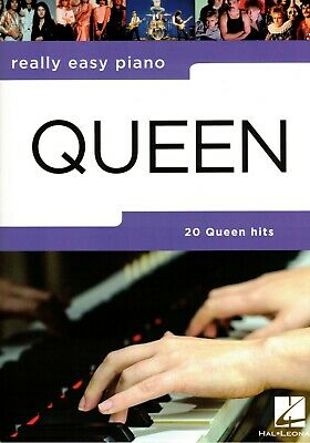 Klavier Noten : QUEEN - 20 Hits (Really Easy Piano ) leicht - leiMittelstufe