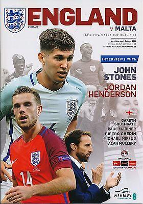 ENGLAND v Malta (World Cup 2018 Qualifier) 2016