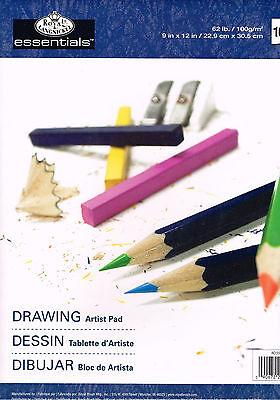 Zeichenblock Zeichnen Papier Künstlerblock Skizzenpapier 100 Blatt A4 100g/m²
