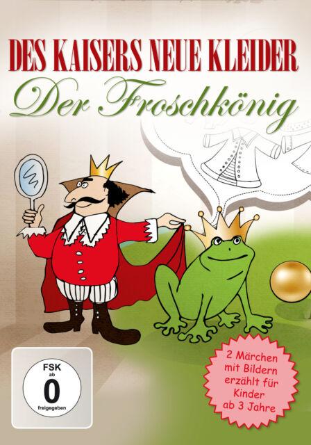 Kinder DVD Des Kaisers neue Kleider und Der Froschkönig - animiertes Bilderbuch