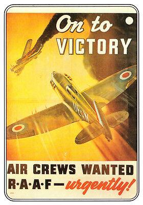 Eden Camp - On to Victory,  Spitfire Rare British RAF Military UK Postcard