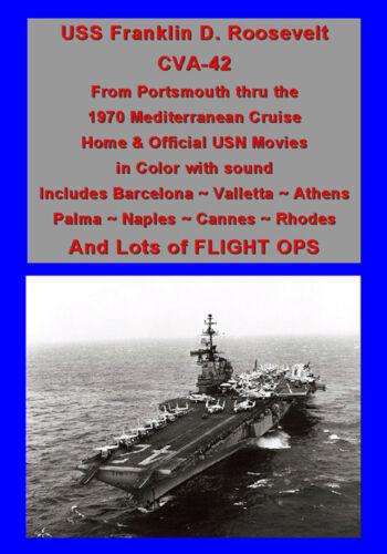 USS FRANKLIN D ROOSEVELT CVA-42 1970 MED CRUISE VIDEO
