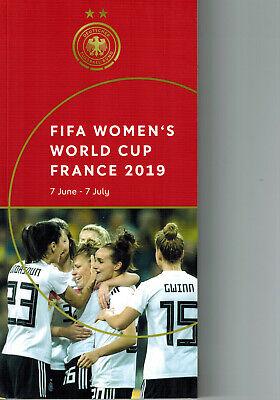 Frauenfußball Media Guide WM Frankreich 2019