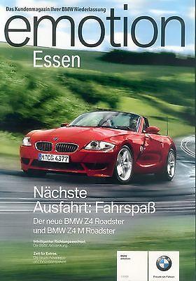 PROSPEKT BMW e85 z4 2.5i 3.0i 1//2003