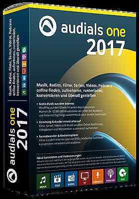 Audials One 2017 CD/DVD Musik Filme Radio Online aufnehmen + Driver Genius 12 CD online kaufen
