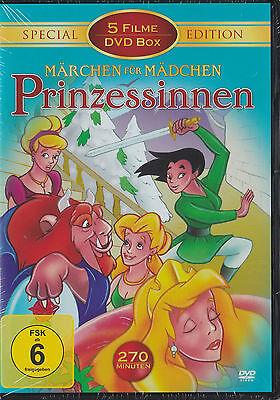 Märchen für Mädchen - Prinzessinnen - Special Edition - 5 Filme - DVD - *NEU*
