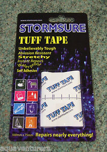 STORMSURE self adhesive TUFF Tape  repairs virtually everything !