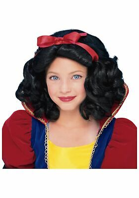 Snow White Wig Child (Storybook Princess Snow White Wig)