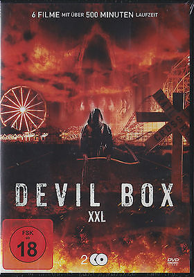 Geister In Filmen (Devil Box XXL - 6 Filme auf 2 DVDs - Neu und originalverpackt in Folie)