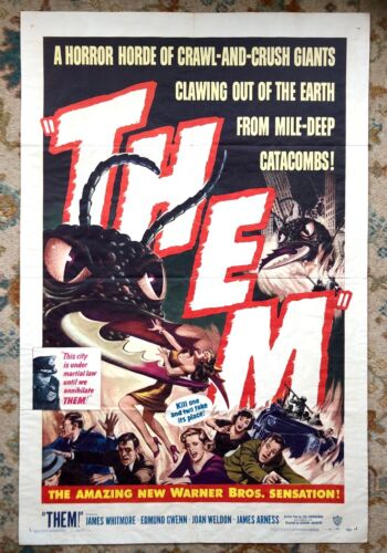 THEM original 1 sheet poster in near mint condition