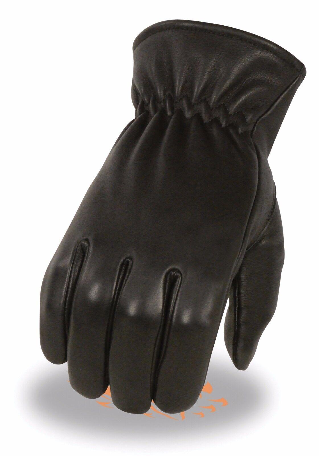 Milwaukee Leather Men/'s Short Wristed Deerskin Unlined Gloves **SH887