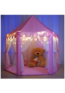 Monobeach Princess Castle Play tent with star lights