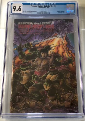 Mirage Studios TMNT Teenage Mutant Ninja Turtles #18 1989 CGC 9.6
