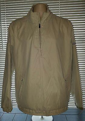 IZOD XFG Beige Half Zip LS Light Weight Pull-over Jacket Sz XL MINT  Half Zip Lightweight Pullover