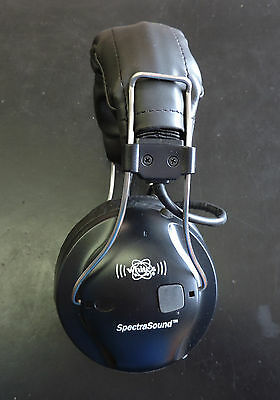Used Whites SpectraSound Wireless  Headphones for the V3i and VX3