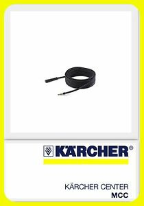 Genuine 10M Karcher Replacement High Pressure Hose - HDS 601C, HD 6/13C