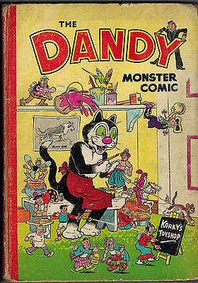 DANDY MONSTER COMIC 1952 vintage annual