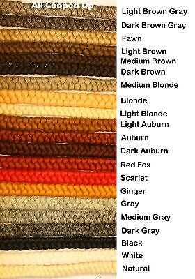 Curly Crepe Hair Pull Wool for Beard, Mustache, Facial Hair, Theatrical Hair](Theatrical Beards)