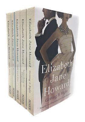 Elizabeth Jane Howard 5 Book Set Collection Mr Wrong, Odd Girl out, After Julies